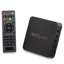 Смарт приставка UTM Android TV BOX MXQ 4k 1GB/8GB